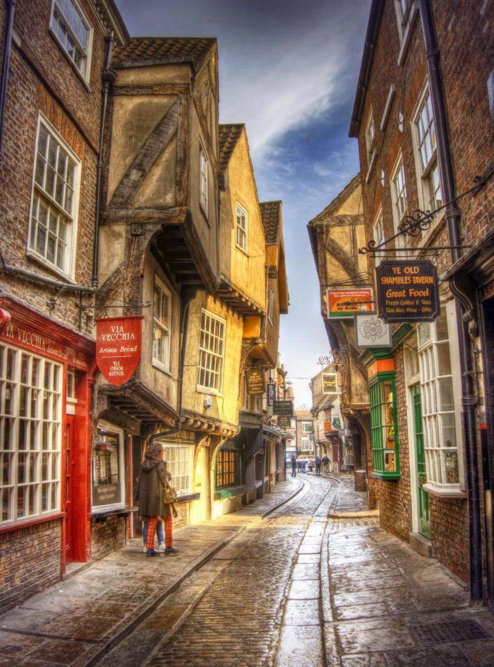 The Shambles, York. Credit Neil Howard, flickr