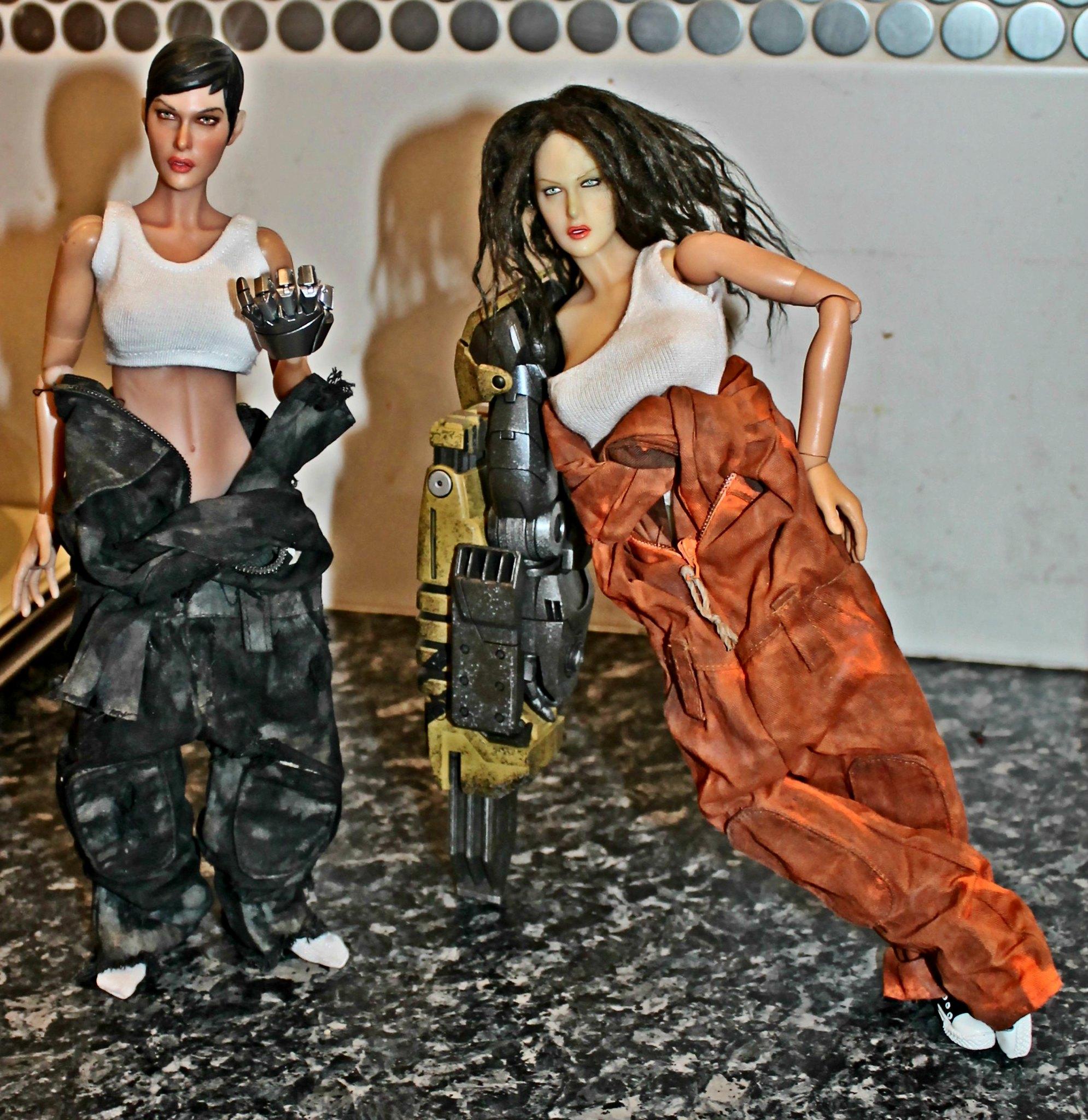 NEW PRODUCT: VS Toys 1/6 Repairman Costume Tight Fit (Male & Female)  42518419491_020686fe87_k