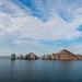 Cirrus Clouds Over Land's End, Cabo San Lucas por Jill Clardy