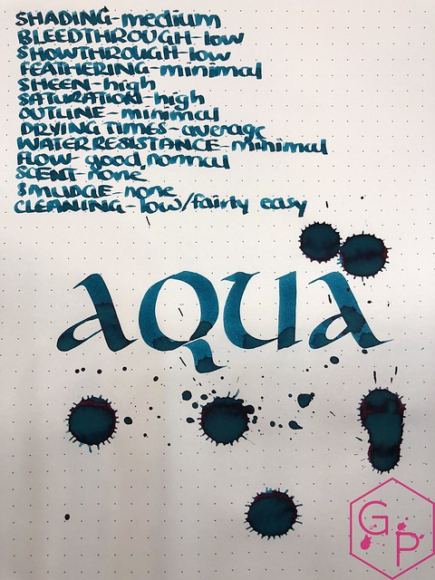 Robert Oster Aqua Ink Review @PhidonPens 10