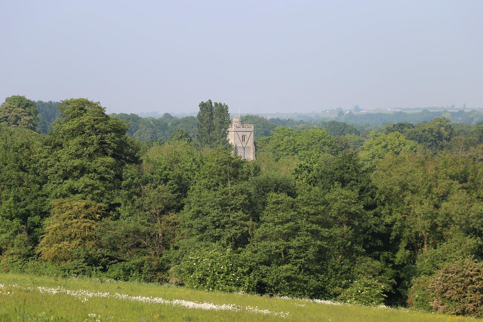 Church Tower - Otford to Eynsford Walk