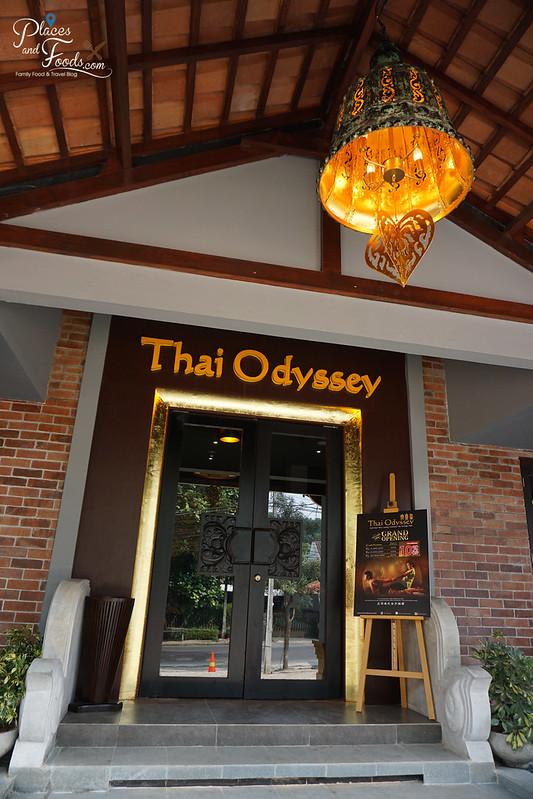 thai odyssey bandung entrance