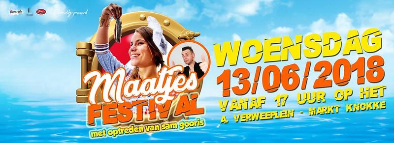 Dino's MaatjesFestival + Suprise Act Sam Gooris (Verweeplein, Knokke) 13/06/2018