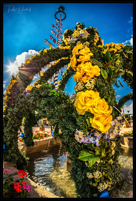 flower fountain 2