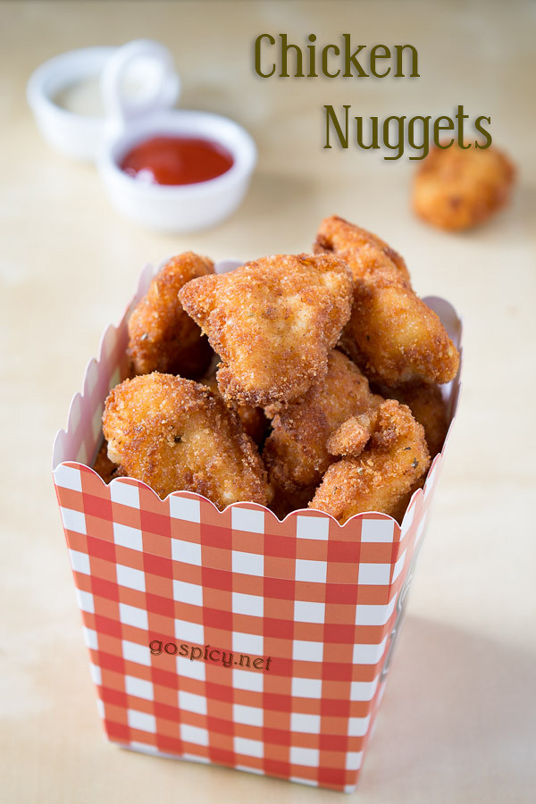 Chicken Nuggets Recipe by GoSpicy.net