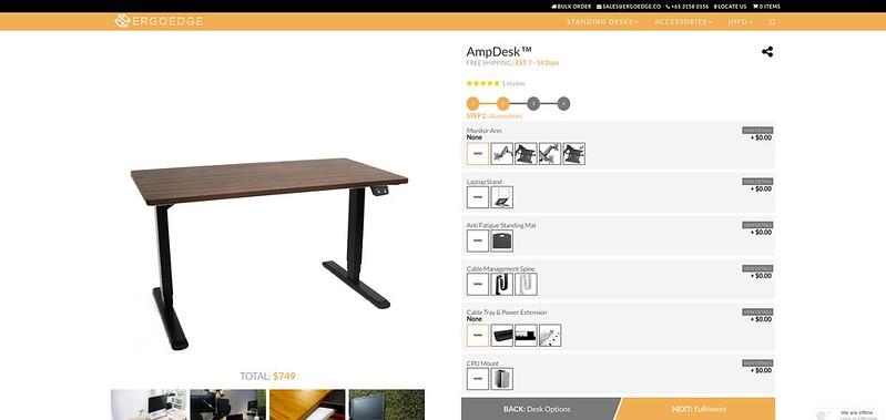 ErgoEdge - AmpDesk - Desk Accessories