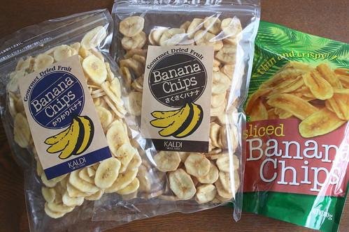 バナナチップ比較