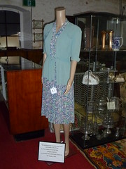 Rae Crawford going away outfit 1942