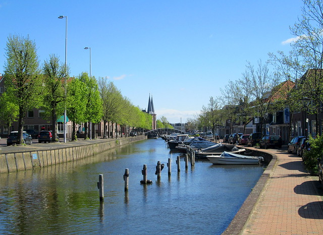 Canal and Waterpoort, Sneek