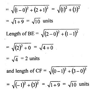 Solution Of RD Sharma Class 10 Chapter 14 Co-Ordinate Geometry