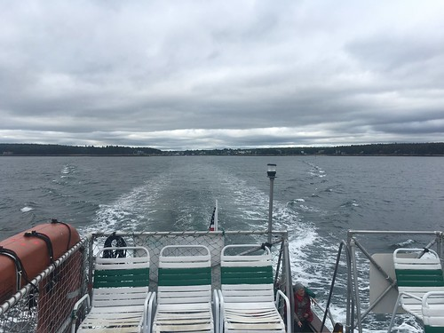 Winter Harbor to Bar Harbor on Ferry Boat