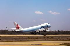 Cargolux LX-ICL Boeing 747-467F - PNZ SBPL