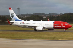Boeing 737 EI-FVI Norwegian - Edinburgh Airport 14/6/18
