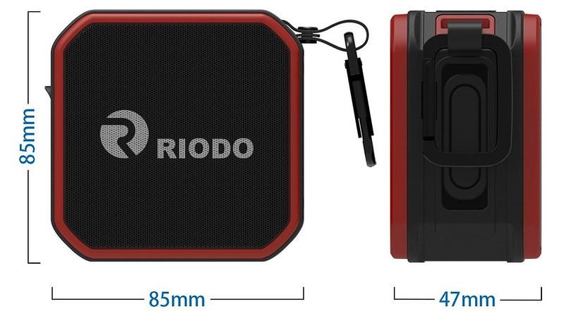 Riodo Bluetoothスピーカー (3)