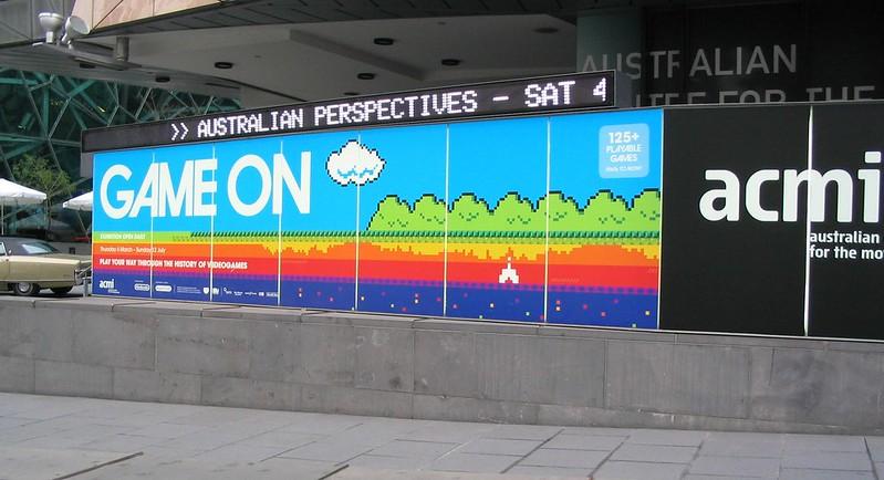 Game On at ACMI, May 2008
