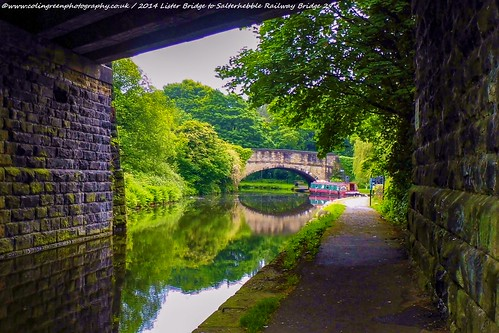 Wakefield Road Bridge over the Calder & Hebble Navigation.