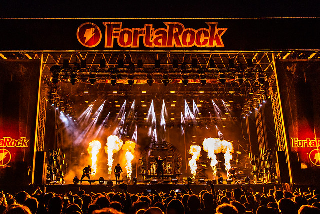 Parkway Drive - Fortarock 2018 (01/06/18), Canon EOS 6D, Sigma 24-70mm f/2.8 EX