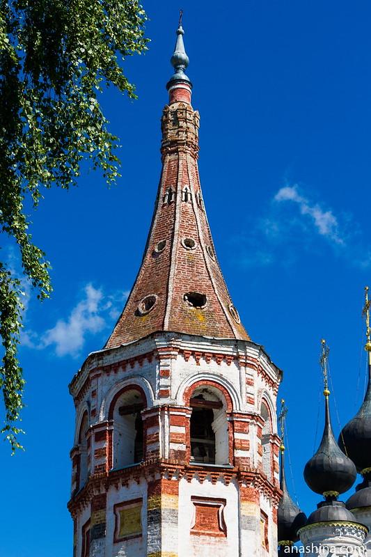 Колокольня Антипиевской церкви, Суздаль
