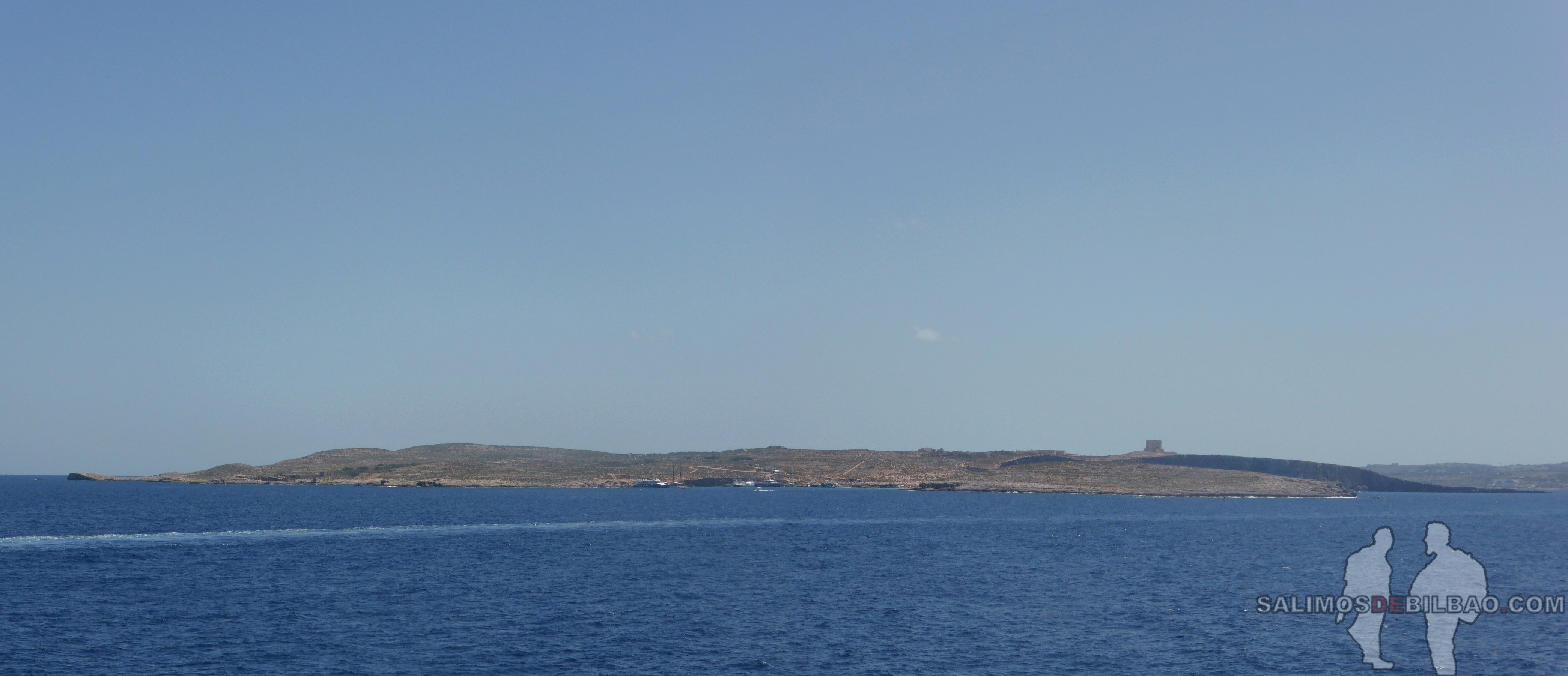 0609. Pano, Isla de Comino, Ferry de Gozo a Malta