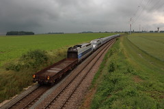 Acheminement du TGV 552 pour le recyclage - Photo of Gastins
