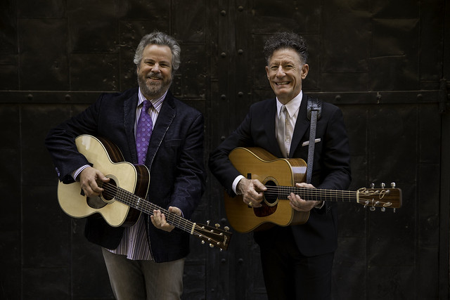 Robert Earl Keen/Lyle Lovett Portrait