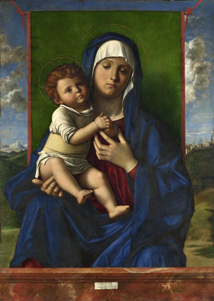 Giovanni Bellini - The Virgin and Child