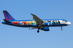 OO-SND A320 Brussels Airlines