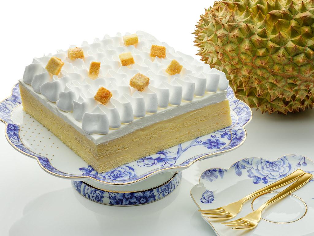 榴莲高级茶自助餐万豪咖啡屋榴莲慕斯蛋糕