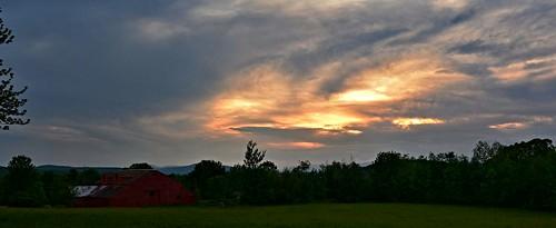panorama sunsetpanorama sunset sunsetsky nature naturephoto naturephotography june maine