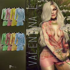 NEW!  Valentina E. Lulu Short Suit @ FaMESHed!