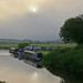 Early morning in the Nene Valley, Northamptonshire