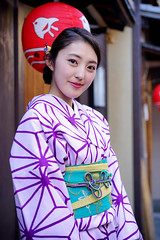 Gentle smile in Pontocho