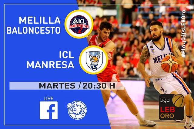 #LEBOro - F-J.5: ICL Manresa vs Melilla Baloncesto (12·06·2018)