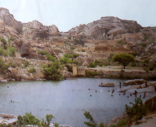 दक्षिण कर्नाटक का एक तालाब