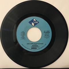 WHODINI:ONE LOVE(RECORD SIDE-B)