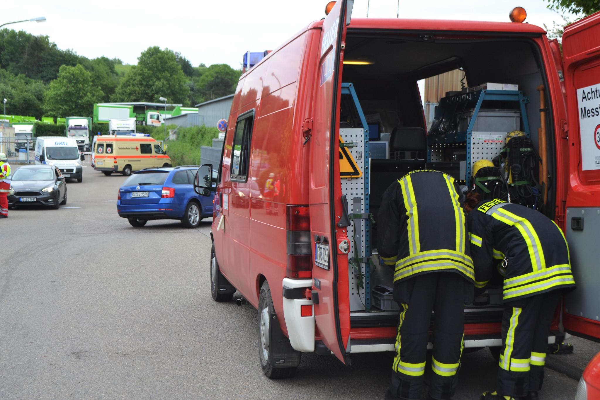 Knittlingen - Fass explodiert - 29.05.2018