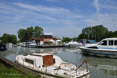 Port de Buzet-sur-Baïse, entre canal et Baïse