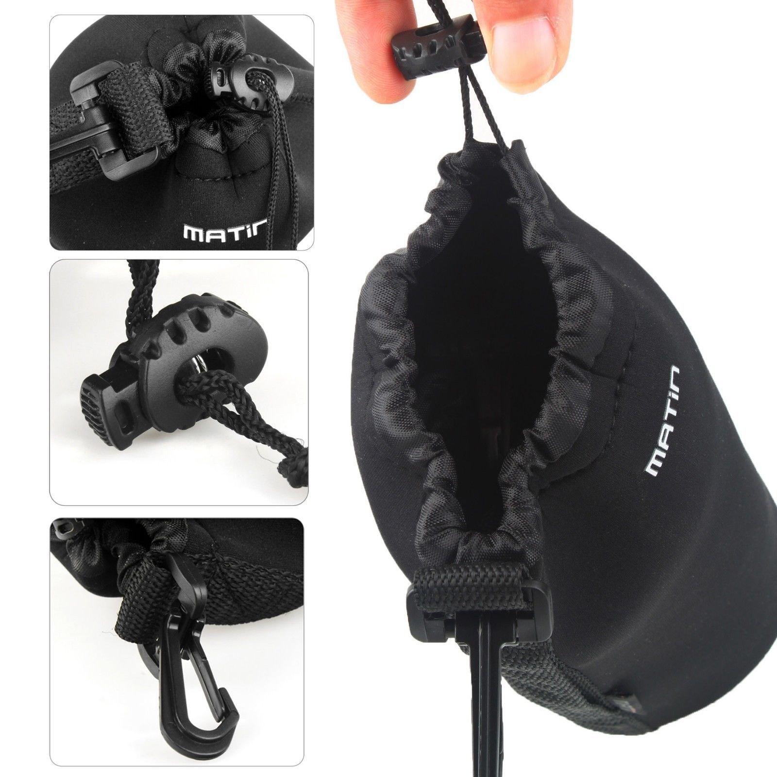 01 Túi chống sốc ống kính Lens máy ảnh Matin size XL_Chiều cao tối đa 22cm
