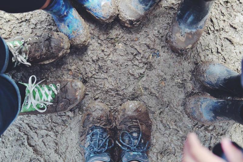 mud camp bestival
