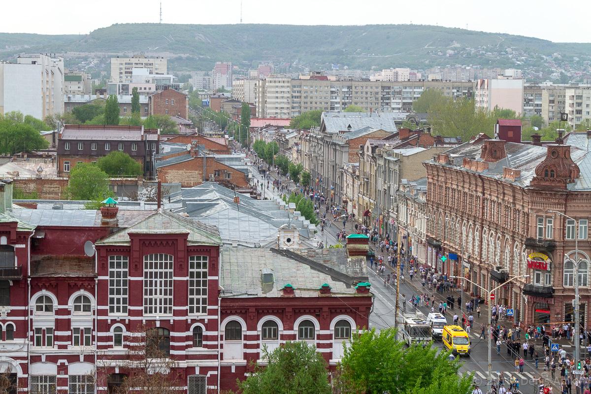 Над Театральной площадью фото 13