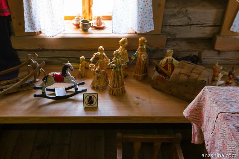 Детские игрушки, Музей деревянного зодчества, Суздаль