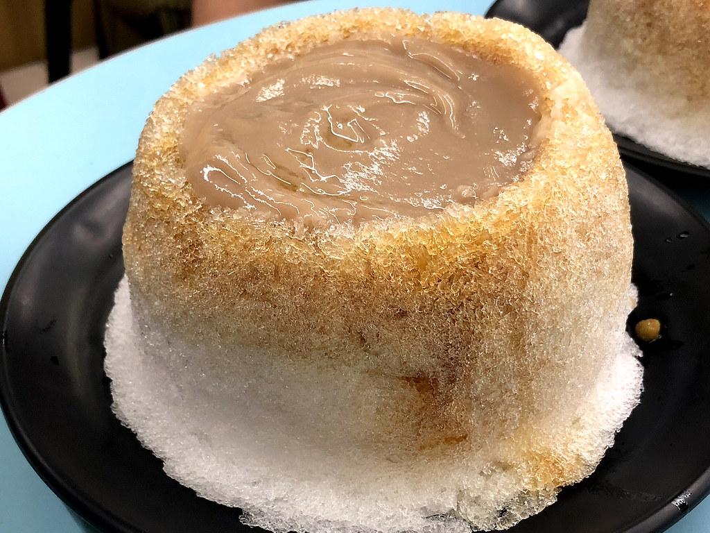六順豆花 芋泥火山冰