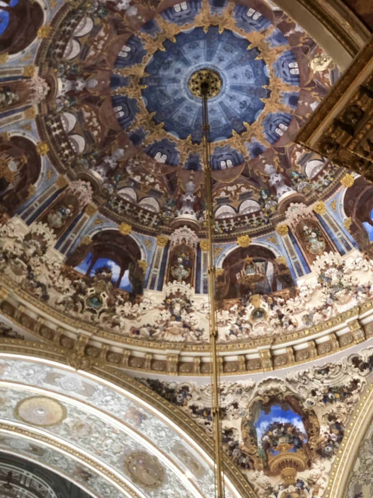 ¿Os imagináis tener este techo en vuestro salón?