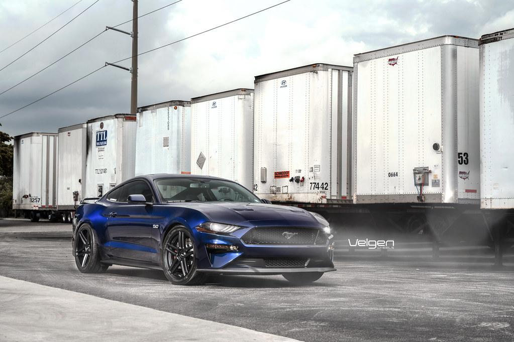 Ford Mustang Gt Velgen Wheels Split5 20 2018 Ford Mustang