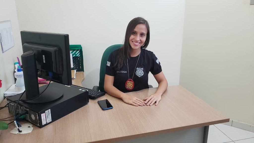 Feminicídio | Sai a prisão preventiva de homem que matou a esposa em Óbidos, Delegada Luanda Tupiassu, da PC do Pará