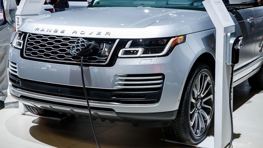 Range Rover Hybrid polnenje