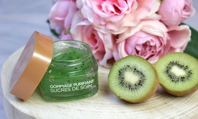 gommage-purifiant-sucres-soin-kiwi-loreal-blog-mode-la-rochelle-2