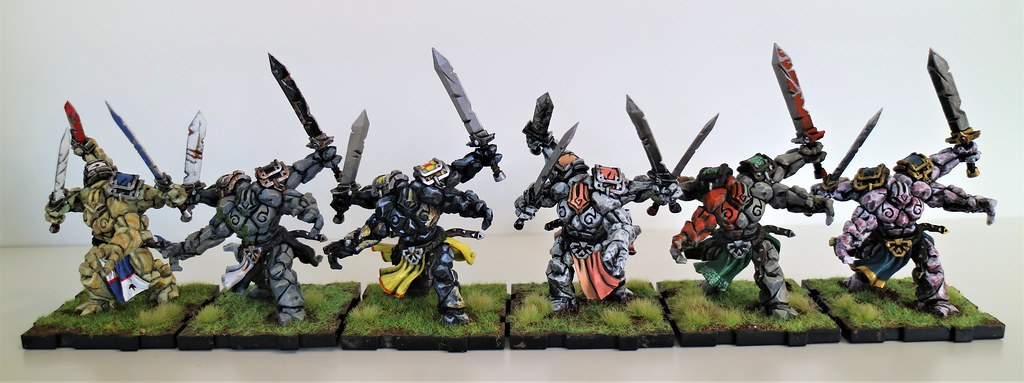 Runewars Miniatures Daqan Rune Golem Unit