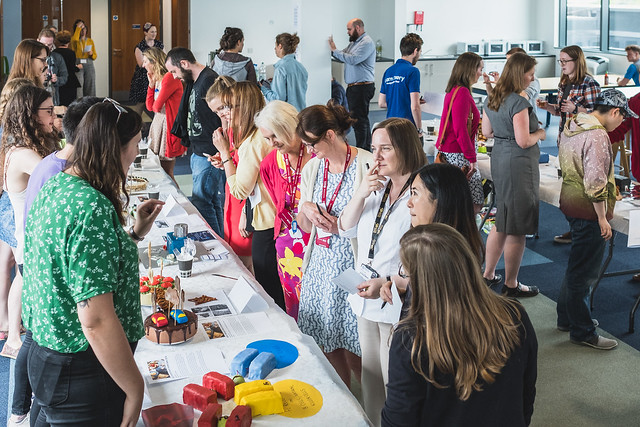 Image of attendees from Bake Your Doctorate 2017
