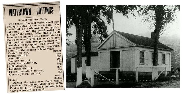 Watertown, CT. Schools 1899